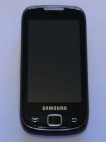 Samsung Galaxy 551 mit Branding