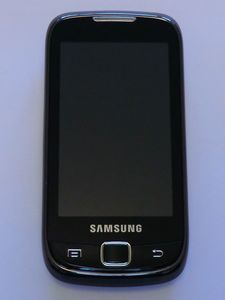 Samsung Galaxy 551 with branding -- © bepixelung.org