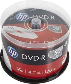 HP DVD-R 4.7GB 16x, 50-pack Spindle