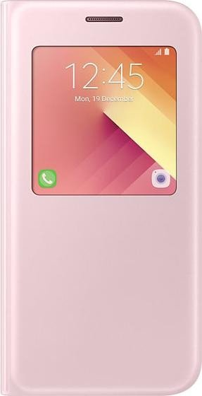 Samsung EF-CA520PP S-View Standing Cover für Galaxy A5 (2017) pink