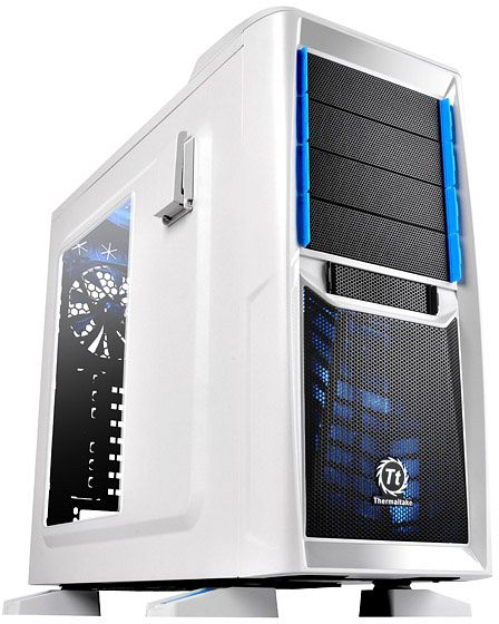 Thermaltake Chaser A41 Snow Edition with side panel window (VP200A6W2N)