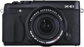 Fujifilm X-E1 schwarz mit Objektiv XF 18mm 2.0 R (4005004)