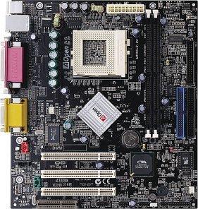 AOpen MX36LE-UN, Apllo PLE133T (SDR)