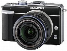 Olympus PEN E-PL1 schwarz mit Objektiv M.Zuiko digital ED 14-150mm (N3865892)