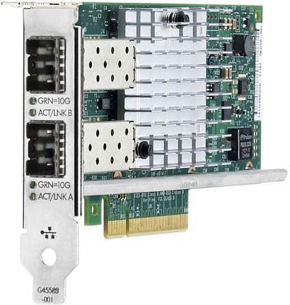HP 560SFP+, 2x SFP+, PCIe x8 (665249-B21)
