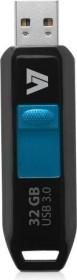 V7 Slider, 32GB, USB-A 3.0 (VU332GDR-BLK-3E)