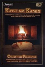 Ambiente: Katze am Kamin