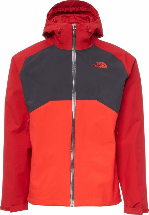 purchase cheap b7efb dcd29 The North Face Stratos HyVent Jacke rage red/high risk red (Herren)  (CMH9-2UZ) ab € 124,88