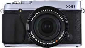 Fujifilm X-E1 silber mit Objektiv XF 18mm 2.0 R (4005006)