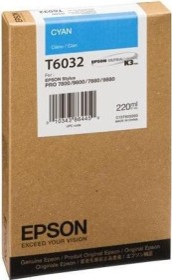 Epson Tinte T5632 cyan (C13T563200)