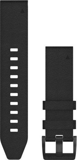 Garmin replacement bracelet QuickFit 22 leather black (010-12740-01)