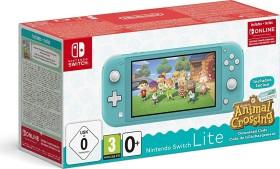Nintendo Switch Lite - Animal Crossing: New Horizons Bundle türkis