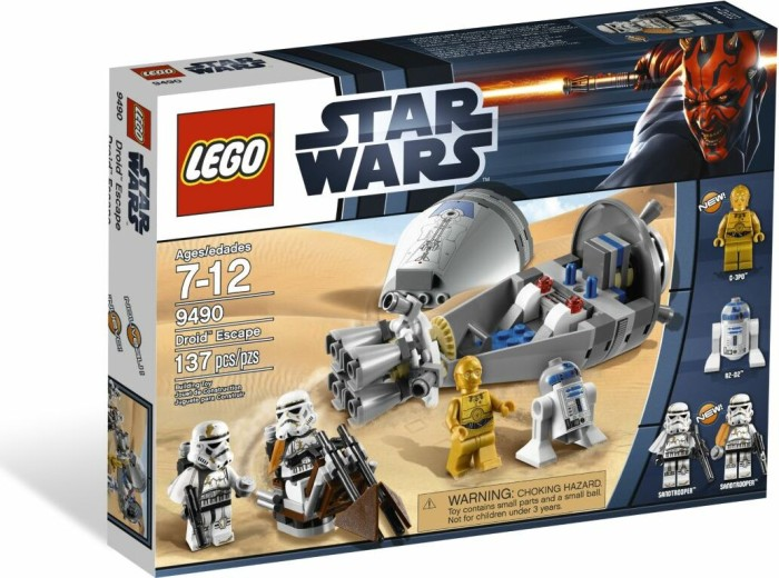 LEGO - Star Wars Episodes I-VI - Droid Escape (9490) -- via Amazon Partnerprogramm