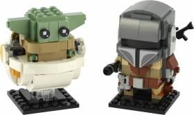 LEGO BrickHeadz - Der Mandalorianer und das Kind (75317)