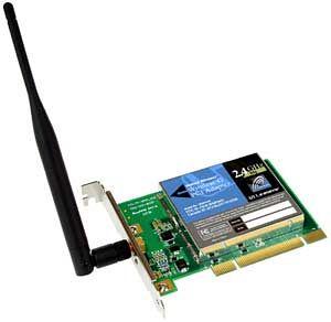 Linksys WMP54G, PCI