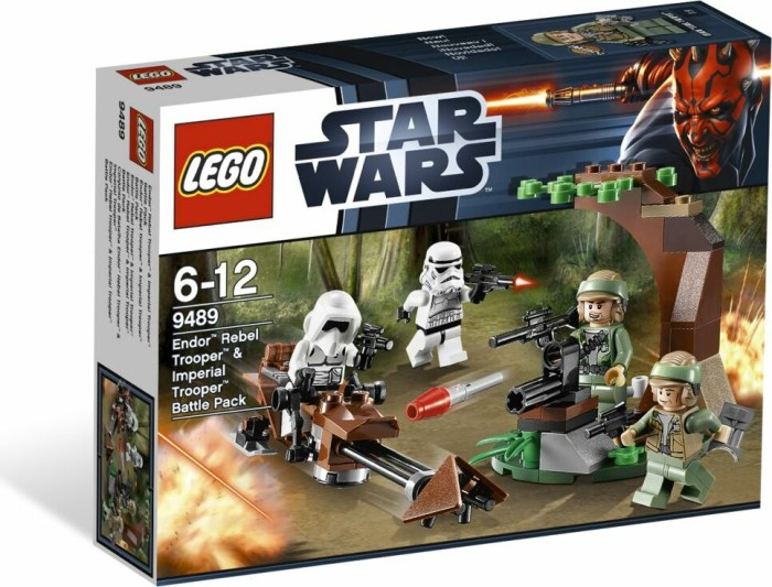LEGO - Star Wars Episodes I-VI - Endor Rebel Trooper & Imperial Trooper Battle Pack (9489) -- via Amazon Partnerprogramm