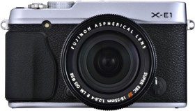 Fujifilm X-E1 silber mit Objektiv XF 35mm 1.4 R (4005011)