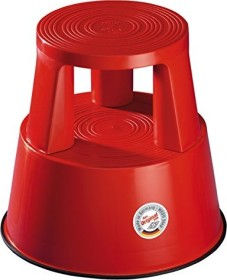 Wedo Step roller stool plastic, red (212-202)