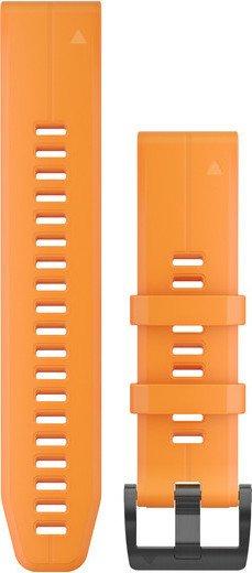 Garmin replacement bracelet QuickFit 22 silicone orange (010-12740-04)