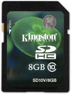 Kingston SDHC 8GB, Class 10 (SD10V/8GB)