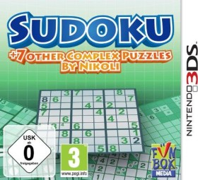 Sudoku + 7 Other Complex Puzzles by Nikoli (3DS)