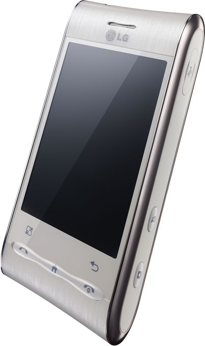 LG Electronics Optimus GT540 white