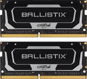 Crucial Ballistix SO-DIMM Kit 16GB, DDR4-2666, CL16-18-18-38 (BL2K8G26C16S4B)