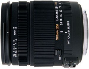 Sigma AF 18-125mm 3.8-5.6 DC OS HSM for Canon (853954)