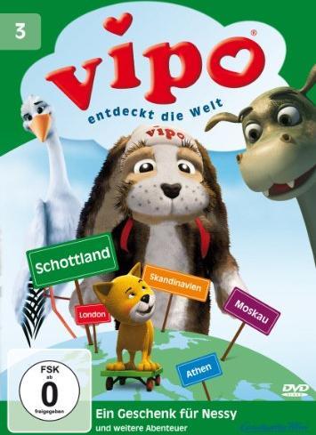 Vipo entdeckt die Welt Vol. 3: Ein Geschenk für Nessy -- via Amazon Partnerprogramm