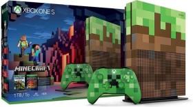 Microsoft Xbox One S - 1TB Minecraft Limited Edition Bundle grün/braun