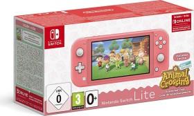 Nintendo Switch Lite - Animal Crossing: New Horizons Bundle koralle