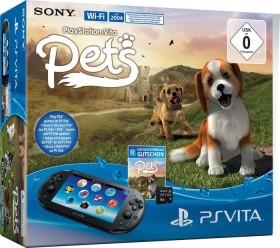 Sony PlayStation Vita Slim Wi-Fi Pets Bundle schwarz