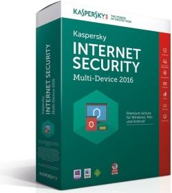 Kaspersky Lab Internet Security 2016 Multi Device, 3 User (deutsch) (Multi-Device)