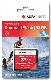 AgfaPhoto CompactFlash Card [CF] 120x 32GB (10255)