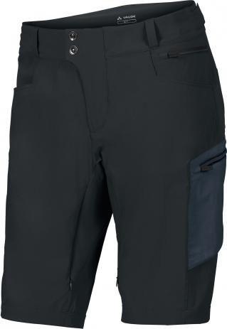 vaude altissimo shorts fahrradhose kurz schwarz herren. Black Bedroom Furniture Sets. Home Design Ideas