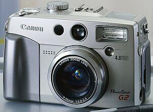 Canon PowerShot G2, w tym 1GB Microdrive