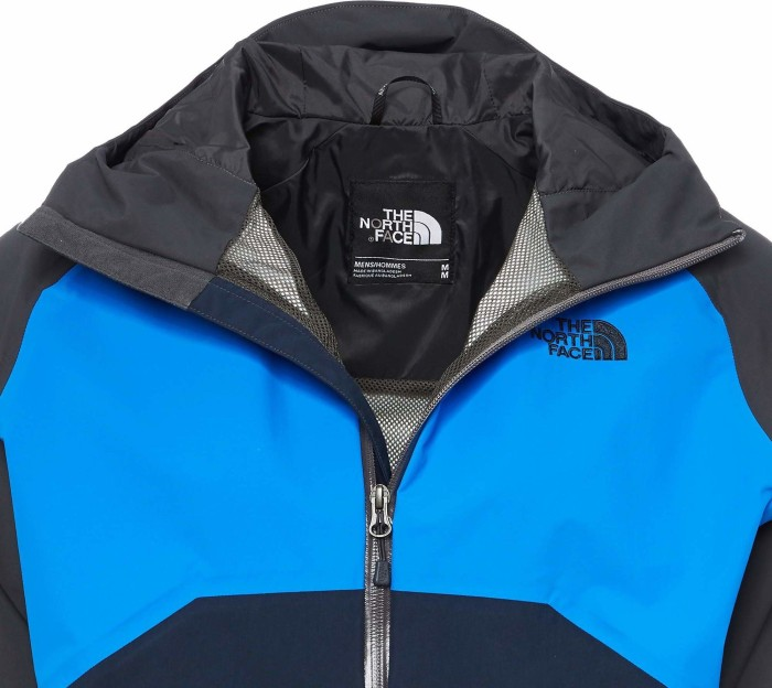 The North Face Stratos HyVent Jacke asphalt greybomber blueurban navy (Herren) (CMH9 2VA) ab € 87,95