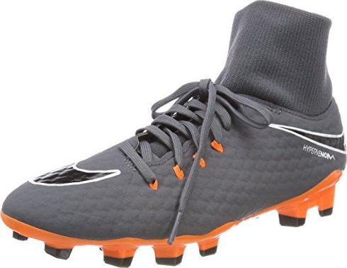 7b6f1a3b9f2e Nike Hypervenom phantom III Academy Dynamic Fit FG dark grey white ...