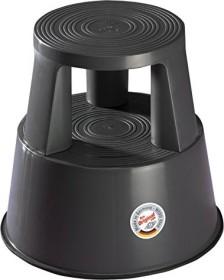 Wedo Step roller stool plastic, grey (212-212)