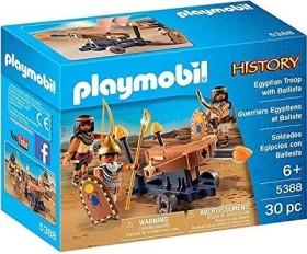 playmobil History - Ägypter mit Feuerballiste (5388)