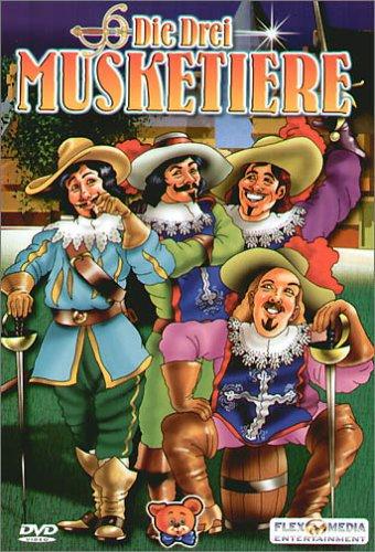 Die drei Musketiere (Zeichentrick) -- via Amazon Partnerprogramm
