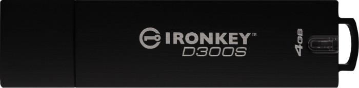 Kingston IronKey D300S Serialized 4GB, USB-A 3.0 (IKD300S/4GB)