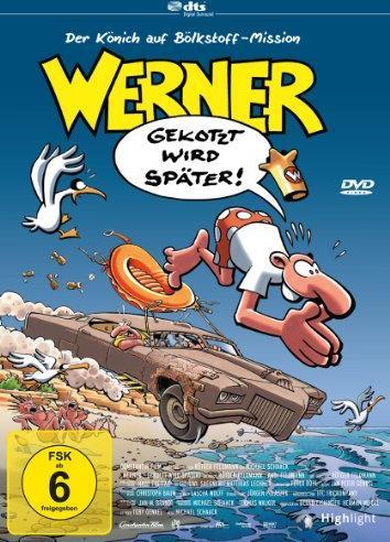 Werner - Gekotzt wird später -- via Amazon Partnerprogramm