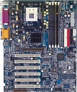 Gigabyte GA-8ITX, i850 (RDRAM)