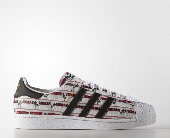 watch 3478f 3b2c7 adidas Superstar Nigo Bearfoot white core black matte gold (men) (S75556)
