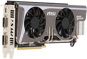 MSI N580GTX Twin Frozr II/OC, GeForce GTX 580, 1.5GB GDDR5, 2x DVI, mini HDMI (V255-040R)