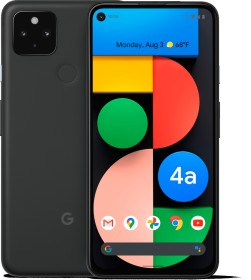 Google Pixel 4a 5G just black
