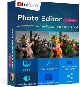 Avanquest InPixio Photo editor Home (German) (PC)