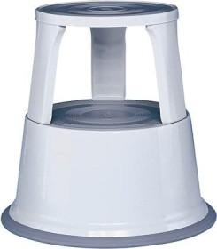 Wedo Step roller stool metal, light grey (212-137)