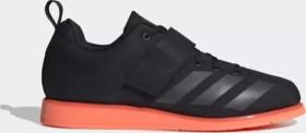 adidas Powerlift 4 core black/night metallic/signal coral (Herren) (EF2981)